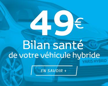 Bilan santé de votre véhicule hybride pour 49 €