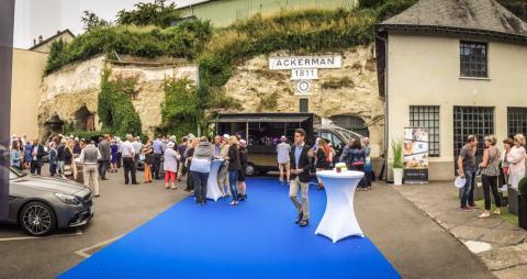 Présentation des cabriolets à Saumur