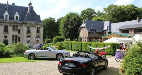Présentation des cabriolets au Château de Hendecourt