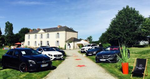 Présentation des cabriolets au Domaine de la Cantinière