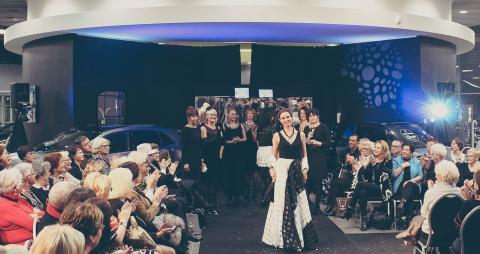 Lille : Défilé de mode Sophie Doucet