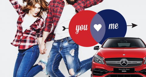 SAGA Mercedes-Benz fête la Saint-Valentin !