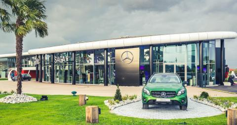 Inauguration de SAGA Mercedes-Benz Dunkerque