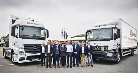 DB Schenker France fait confiance à Mercedes-Benz CharterWay