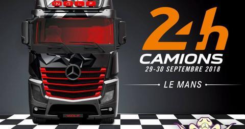 SAGA Mercedes aux 24h du Mans Camion
