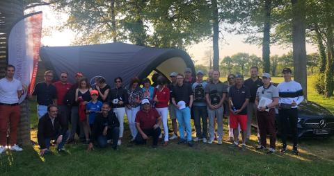SAGA La Roche : Compétition de Golf avec Ornay Finance