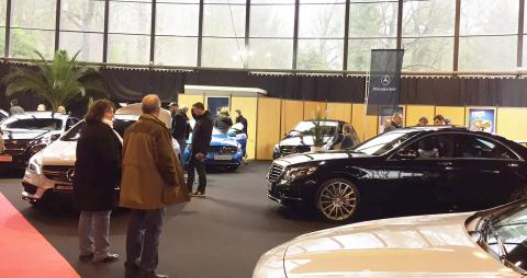 Salon de l'auto de Cambrai