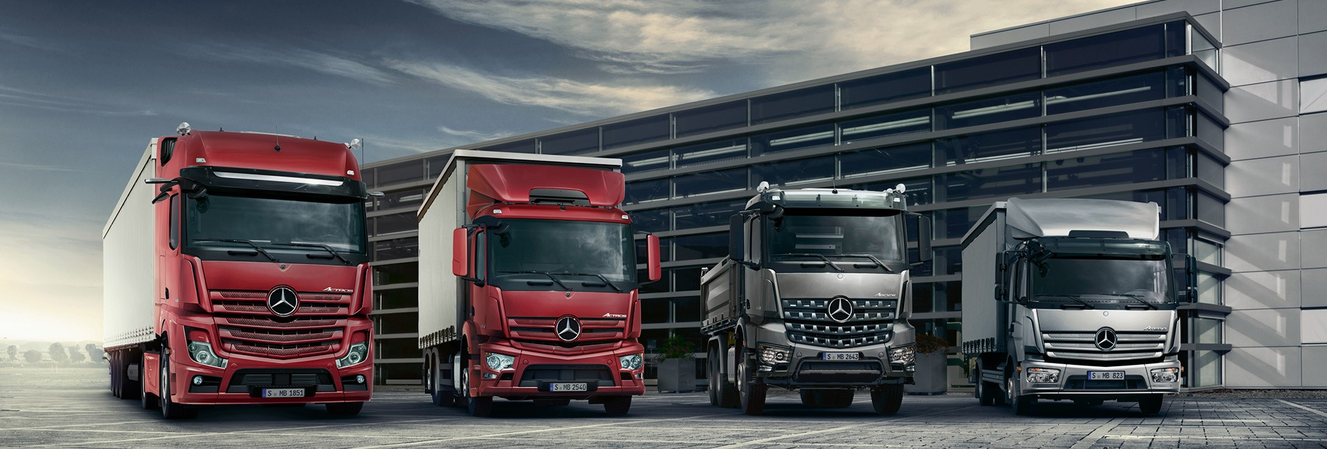 Camions neufs